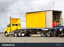 semi truck semi truck forklift back stock photo 2664686 shutterstock