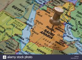 saudi arabia world map up of the words saudi arabia on a world map marked with a