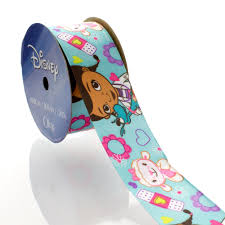 doc mcstuffins ribbon 1 5 disney doc mcstuffins and friends turquoise satin ribbon