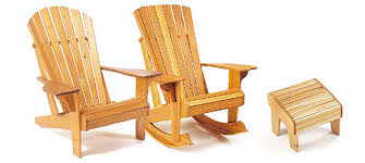 Adirondack Deck Chair Outdoor Wood Plans Download veritas