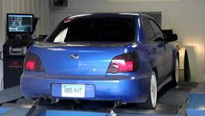 subaru hybrid sedan 2005 subaru 18g v7 hybrid wrx dyno run 1 efi logics bethel ct