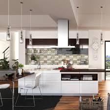 Kitchen FurnitureHigh Gloss White Lacquer KitchenKitchen Island - High gloss lacquer kitchen cabinets