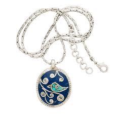bird necklace images Mosaic bird pendant jpg