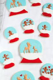 snow globe cookies the bearfoot baker