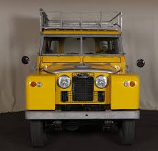 land rover yellow 1960 land rover series ii model 88 series vintage pinterest