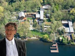Crazy Houses 19 Crazy Facts About Bill Gates U0027 House Business Insider