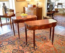 Chippendale Dining Room Set Sheraton Mahogany Games Tables Sold Raymond James Antiques