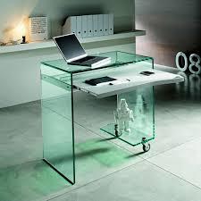 Small Glass Computer Desk Unique Small Glass Computer Desk Concept Home Decor Gallery