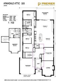 our homes the armadale attic premier builders group floorplan