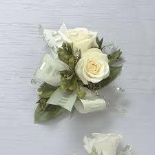 corsage flowers white corsage granara s flowers san carlos ca 94070
