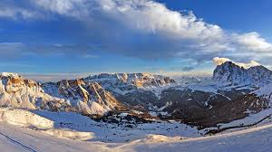 skiing area valgardena