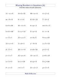 algebra worksheets grade 7 free worksheets library download and