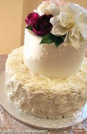 learn how to decoration a wedding cake with fresh flowers free