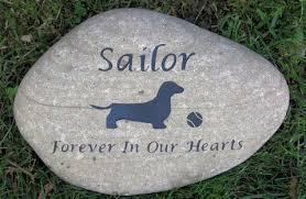 grave marker dachshund pet memorial dachshund memorials grave marker