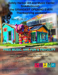 shamc grand opening set for thanksgiving weekend
