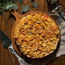 spiced apple rose tart u2022 feedfeed by julie resnick