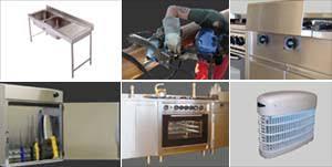 fourniture cuisine professionnelle spécinox l inox fabrication vente de matériel