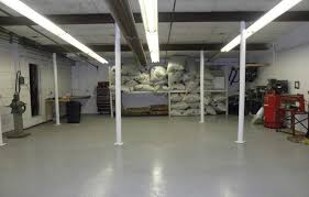 Painted Concrete Basement Floor by Behr Concrete And Garage Floor Paint Concrete Flooring Concrete