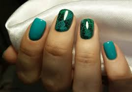 green nail design u2013 nail art designs