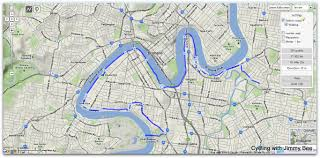 Saint Lucia Map Cycling With Jimmy Bee Cycling Norman Park To St Lucia Qld
