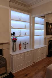 Bookcases With Lights Fitted Wardrobes Bookcases Shelving Floating Shelves London