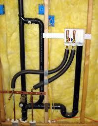 washer that hooks up to sink washing machine and vanity sink share same 2 drain plumbing
