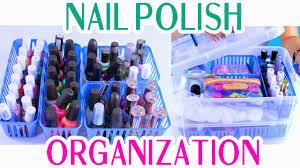 decorateyou nail polish organization and storage portable and
