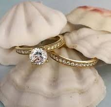 14k gold engagement ring setting 5 8 cttw