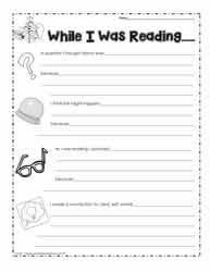 reading comprehension grade 4 worksheets reading activities book response novel study worksheets
