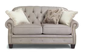 Traditional Chesterfield Sofa by Loveseat Button Tufted Wingback Loveseat Kingstown Home