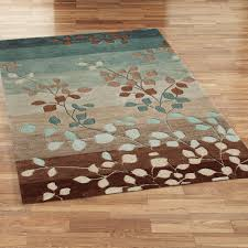 9x9 Area Rug by Aqua And Brown Area Rugs Rugs Ideas