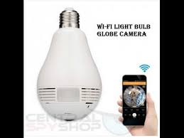 wifi camera light bulb socket wifi panoramic light bulb camera hd authentic original version
