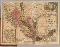 Map Of Yucatan Map Of Mexico Including Yucatan David Rumsey Historical Map