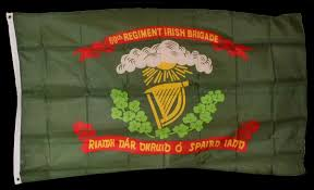 Civil War Union Flag Pictures 69th New York Union Irish Brigade Flag