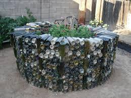 keyhole garden layout keyhole garden with recycled wine bottles garden pinterest