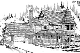 Victorian House Plans Victorian House Plans Gibson 10 030 Associated Designs