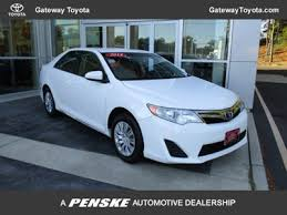 2014 toyota camry price 2014 toyota camry le toyota certified gateway toyota serving