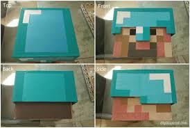 Steve Minecraft Halloween Costume Diy Minecraft Costume Instructions Diy Inspired