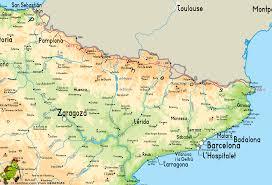 Girona Spain Map by Sendero Pirenaico