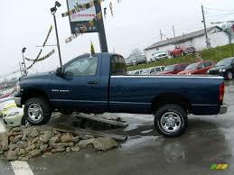 2005 patriot blue pearl dodge ram 2500 slt regular cab 4x4