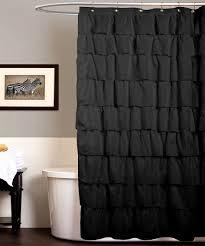 Black Bathroom Curtains Bathroom Black And White Shower Curtain Black And White Shower
