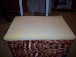 Basket Ottoman by Basket Becomes A Storage Ottoman North Fork Staged To Sell