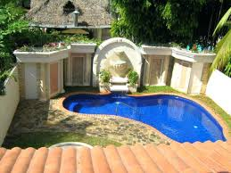 gallery for small pool design ideas small pool house design ideas