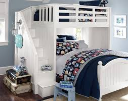 Pottery Barn Camp Bunk Bed The Perfect Bedroom For Kids Who Love Cars Airplanes And Things