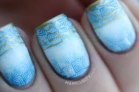 greek flag nails images