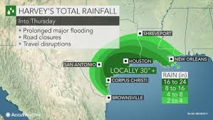rainfall totals map torrential to evolve into flooding disaster as major