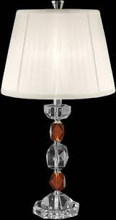 dale tiffany crystal ls palacial 1 light table l oil rubbed bronze oil rubbed bronze