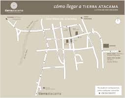 Atacama Desert Map How To Arrive Tierra Atacama Hotel U0026 Spa San Pedro De Atacama Chile