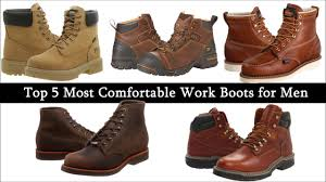 Most Comfortable Mens Boots Top 5 Most Comfortable Work Boots On Vimeo