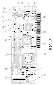 the interlace floor plan patent us6301104 interface card type motherboard for a computer